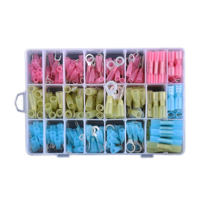 Waterproof 250pcs Assorted Insulated Spade Crimp Terminals Electrical Wire Cable Connectors Assortment Kits Electrical Crimp 220v commercial smart cafe machine hong kong style black tea machine stainless steel american coffee machine tea water machine