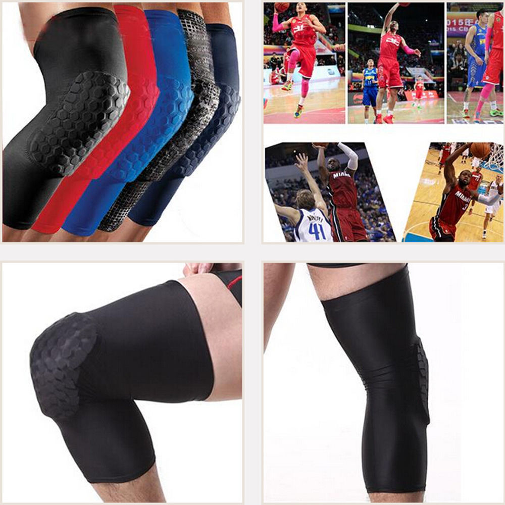 Adult Breathable Protector Knee Sleeve Fashion Basketball Pad Protector Gear Leg Knee Brace Arm Elbow Long Sleeve Antislip