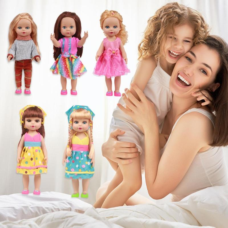 35cm reborn bebê dos desenhos animados bonecas vinil silicone lifelike crianças simulação brinquedos menina aniversário presente do dia das crianças