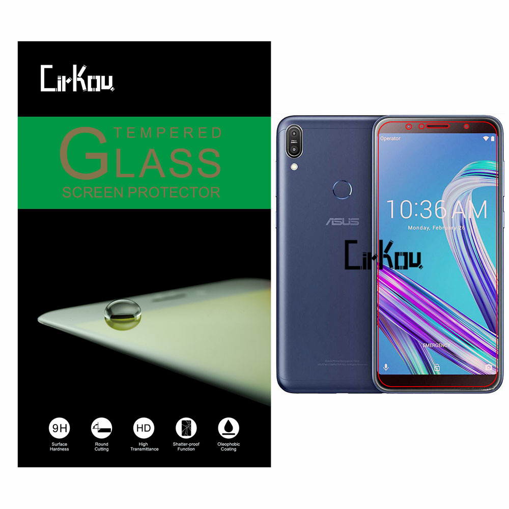 For ASUS ZenFone Max Pro M1 ZB601KL ZB602KL 2 5D Arc Edge 0 33mm 9H Hardness 100 Tempered Glass Screen Protector Film in Phone Screen Protectors from Cellphones Telecommunications