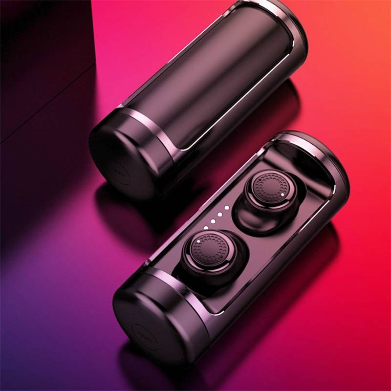 OVEVO Q63 Loseless HiFi Dual bluetooth 5.0 Earphones TWS IPX5 Waterproof Earbuds with Microphone for Iphone for Android Phones-in Bluetooth Earphones & Headphones from Consumer Electronics    1