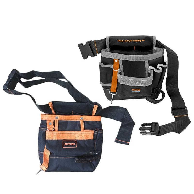 Multi-Function Waist Bag Special For Electrician Repair 7-Pocket High-End Boutique Tool Waist Bag