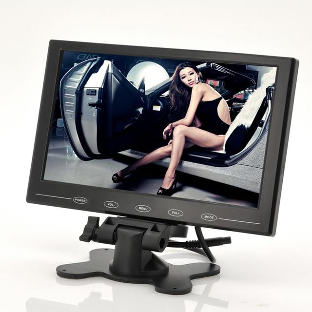 Adeeing 9 Inch TFT LCD Monitor - In-Car Headrest/Stand Ultra-Thin Design 800x480 Resolution 9 Inch TFT LCD Monitor rNO