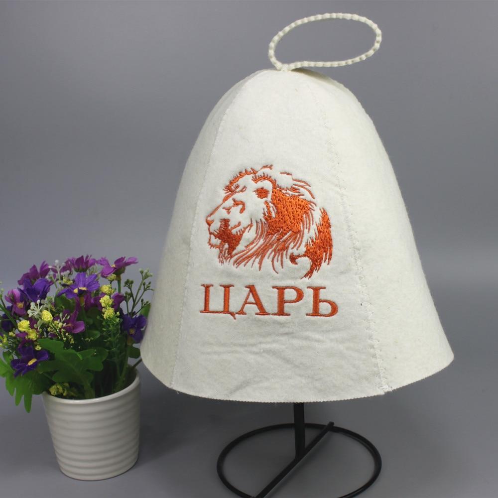सुंदर 100% ऊन मिनी सौना टोपी - होम बर्तन