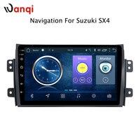 9 дюймов Android 8,1 автомобильный dvd проигрыватель с gps для мультимедиа Suzuki SX4 2006 2013 автомобильный dvd gps навигация Райдо аудио видео плеер