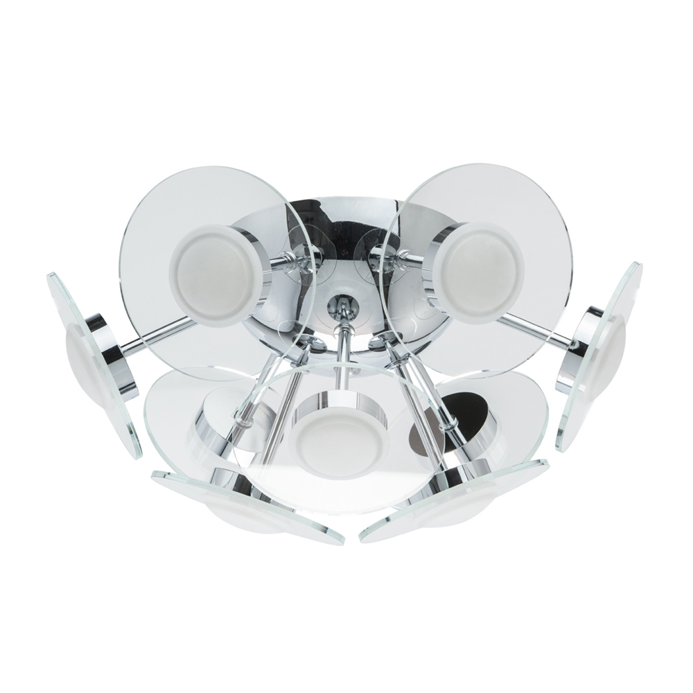 Ceiling Lights De-Markt 678012209 lighting chandeliers lamp