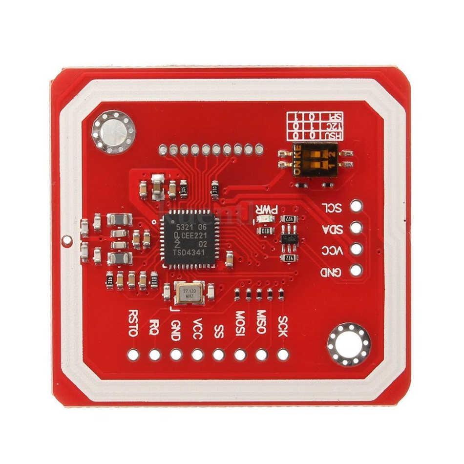 REES52 PN532 NFC NXP RFID Module V3 Kit lecteur de Communication en champ proche I2C SPI HSU avec S50 carte blanche clé carte pour Arduino