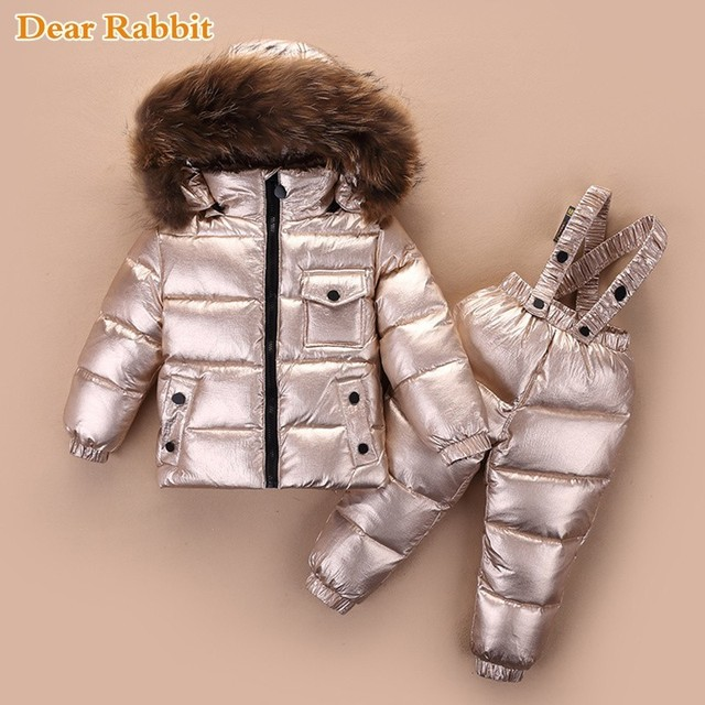 a315f12edd01 2018 cold winter warm Children s Clothing sets down jackets boys ...