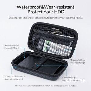 Image 3 - Защитный чехол ORICO для внешнего аккумулятора HDD SSD, встроенный внутренний сетчатый слой для кабеля USB, аксессуары для наушников