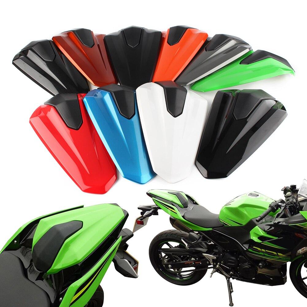 Dasorende Cubierta del Carenado de la Capucha del Asiento del Pasajero Trasero de la Motocicleta para Ninja 650 Z650 2017-2020 Verde Oscuro