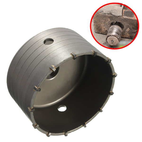 160mm Hollow Core Drill Alloy Hole Saw Cutter for Concrete Brick Wall Woodworking Tools160mm Hollow Core Drill Alloy Hole Saw Cutter for Concrete Brick Wall Woodworking Tools