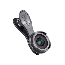 Apexel Pro Optic Smartphone Camera Lens Kit 4K Hd 0.6X Wide Angle+10X Macro 2 In 1 Lens For Iphone Xiaomi Samsung No Dark Circ