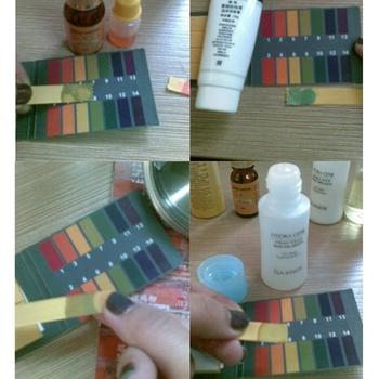 Amazing 80 Strips PH Test Strip Aquarium Pond Water Testing PH Litmus Paper Full Range Alkaline Acid 1-14 Test Paper Litmus Test image