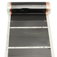 4pcs 50CM*2M One Square MeterFar Infrared Heating film Tool Warming Film Mat Floor Heating Film (No accessories)