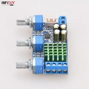 Image 5 - HIFIDIY placa amplificadora TPA3116 2,0, A2.0 3P en vivo, amplificador de Audio Digital para coche, 50W * 2 TPA3116, ajuste de graves y agudos para el hogar