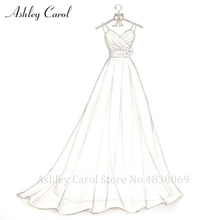 Ashley Carol Wedding Dress 2019 sexy A-Line wedding