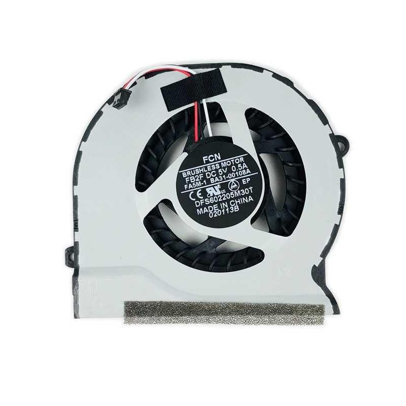 Новый BA31 00108A Процессор вентилятор охлаждения для samsung NP305V4Z NP300E45 NP305V5A NP300E4C NP300V5A