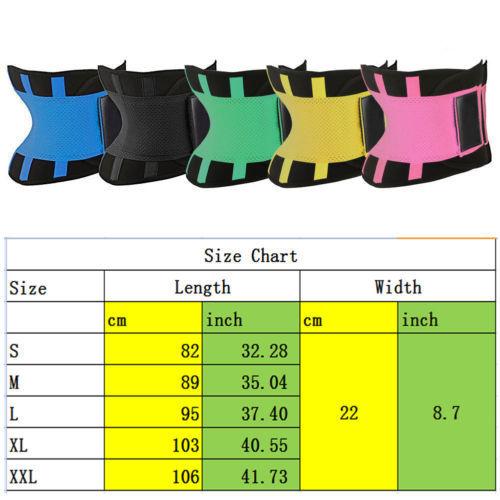 HIRIGIN Men Women Shapewear Hot Sweat Belt Waist Trainer Cincher Body Shaper Corset Faja Lady Suit 1