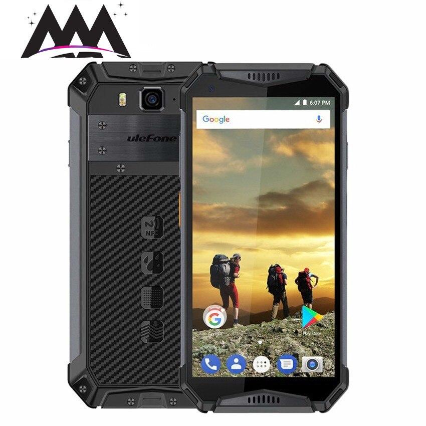 Глобальная версия Ulefone Броня 3 IP68 водонепроницаемый ударопрочный мобильный телефон Android 8,1 Octa Core 4 ГБ + 64 ГБ 21MP 10030 мАч смартфон