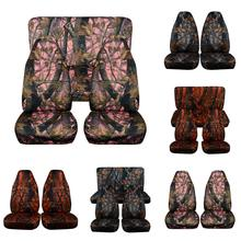 Hunting Camouflage Car Seat Covers For SUV Off-Road Universal Size Auto Cover Fishing Waterproof Interior Accessories