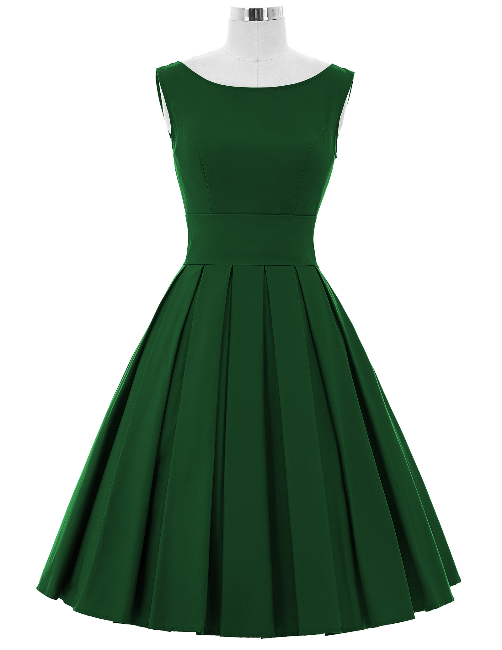 Summer Solid Pockets Dresses Plus Size Cocoon Sleeveless: Swing Dresses Women Summer Solid Color Retro Vintage