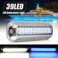 1x Универсальный 39 LED подводный Понтон Лодка транцевые рыболовные огни лампа лодка транцевый свет крышка водонепроницаемый высокой интенси...