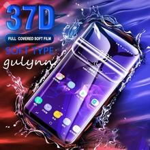 37D Full Cover Soft Hydrogel Film For Samsung Galaxy A10 A20 A30 A 40 50 60 70 80 90 2019 Screen Protector M 10 20 Not Glass
