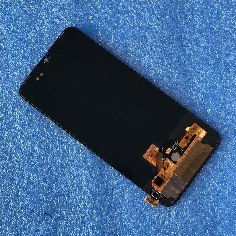 """新しいために到着した 6.41 """"6 T Axisinternational Oneplus オリジナル液晶ディスプレイスーパー Amoled スクリーン + タッチパネルデジタイザーアセンブリ  グループ上の 携帯電話 & 電気通信 からの 携帯電話用液晶ディスプレイ の中 1"""