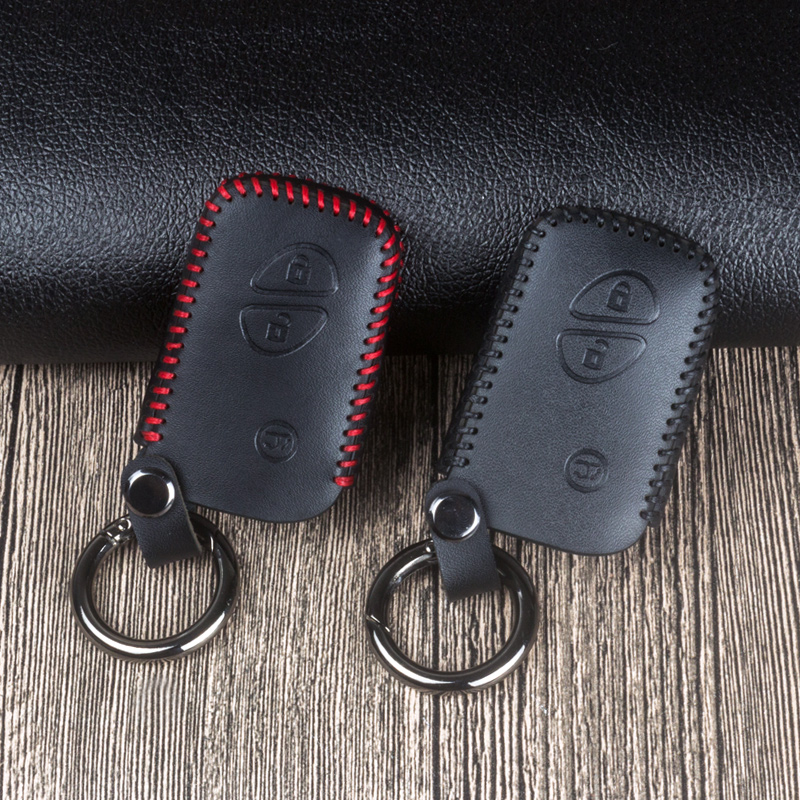 Leather Car Remote Key Fob Shell Cover Case For Lexus RX270 NX200 CT200H GX400 GX460 IS250 IS300C RX270 ES240 ES350 LS460 GS300