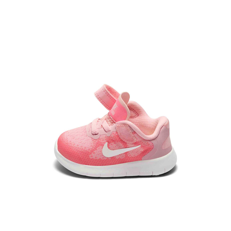 buy popular 642c4 db468 Nike FREE RN Girl Toddler Light Ventilation Magic Subsidies Children Motion  Casual Shoes Running Shoes#904261-602