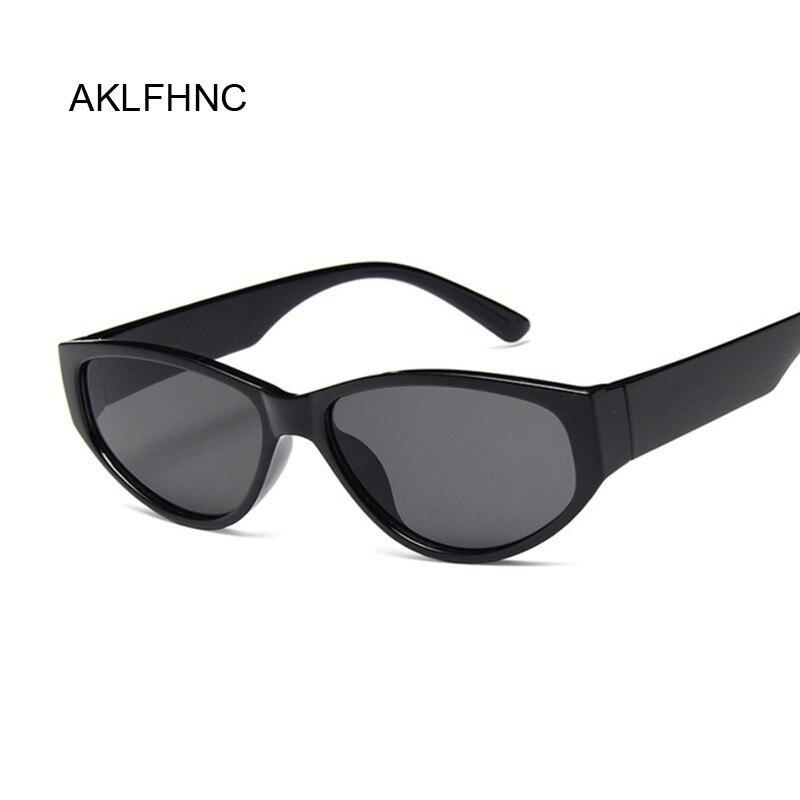 Vintage Cat Eye Sunglasses Women Classic Brand Designer Small Frame Cateyes Sun Glasses Female Luxury Oval Eyewear UV400
