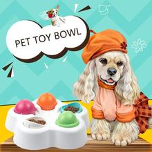 Dog Feeder Bowl Cat Feeding Food Water Dish Pets Puzzle Smart Toy Puppy Slow Down Eating Feeder Dish Bowel Prevent Obesity
