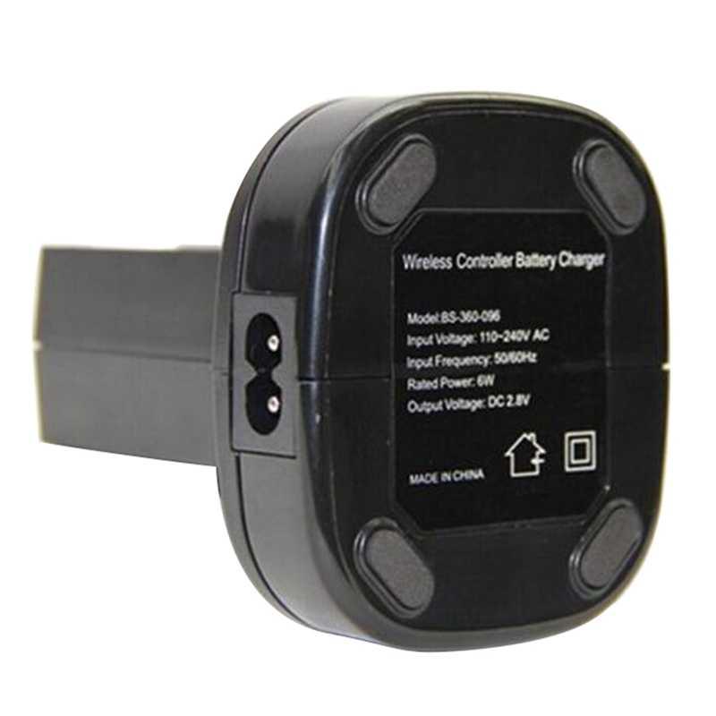 Dock Station Caricatore doppio Con 2Pcs 4800Mah Batteria Ricaricabile Led Luce di Ricarica Per Xbox 360 Controller 360 Spina di Ue