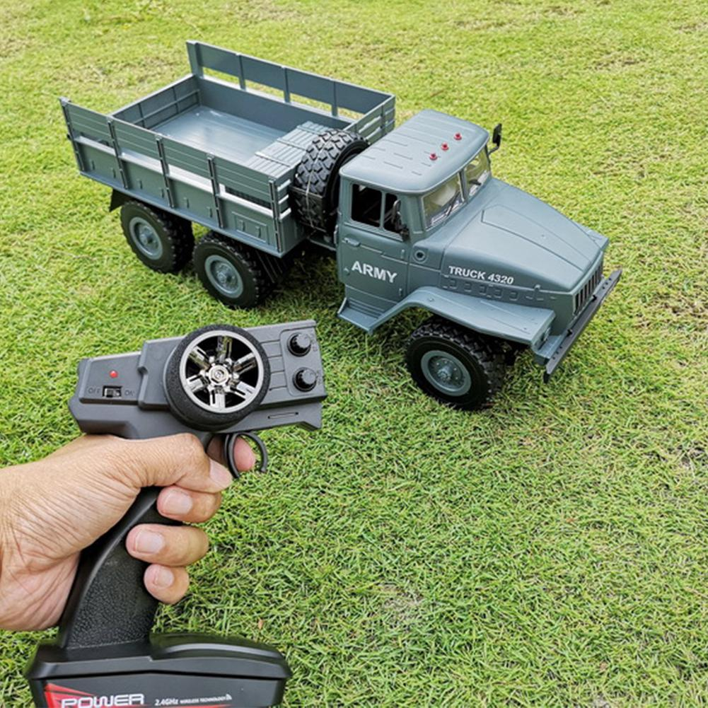 LeadingStar 1 12 Remote Control Military Truck 4 Wheel Drive Off Road RC Car Model Climbing