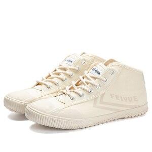Image 3 - Davufeiyue جديد حذاء قماش غير رسمي بيج الرياضة المسار أحذية رياضية الرجال النساء غير رسمية مريحة عدم الانزلاق دائم الأحذية 921