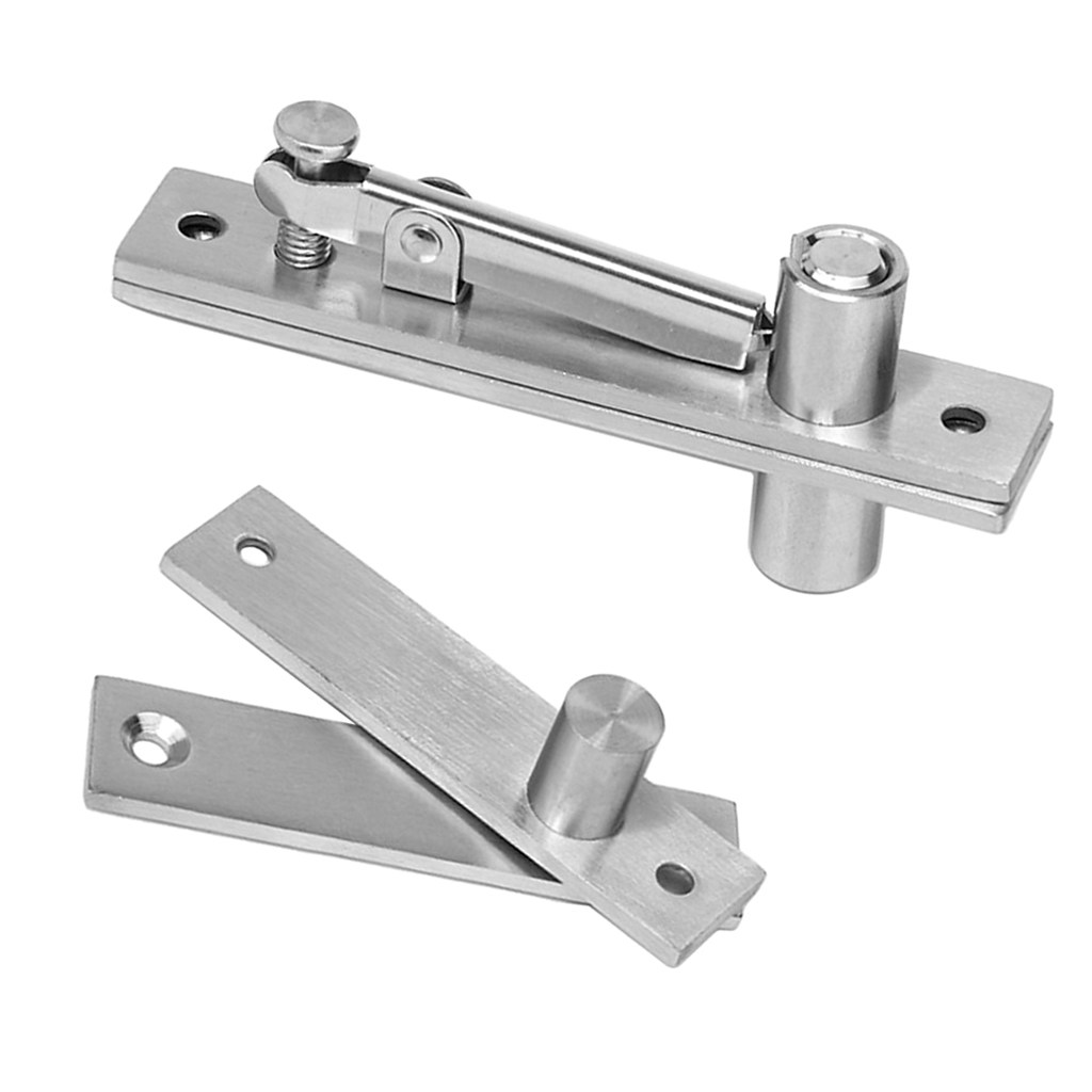 Ned High Quality Stainless Steel 304 Door Hinge 130x25mm 105x25mm Pivot Hinge 360 Degree Install Up And Down For One Set