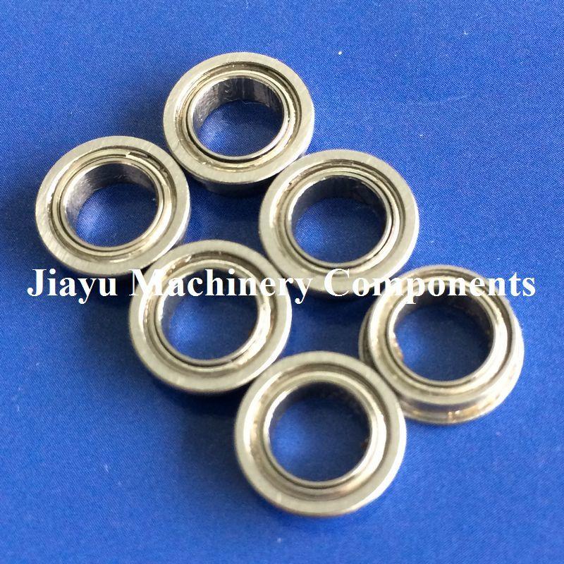 "FR168ZZ Flanged Bearing 1//4/""x3//8/"" x1//8/"" Ceramic Balls"