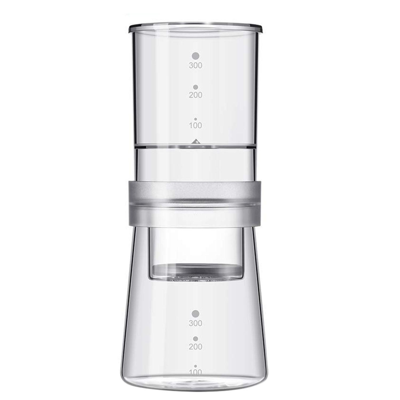 Chaud 300 Ml fait maison verre froid brassage cafetière réglable glace eau goutte à goutte Pot goutteur verre Carafe néerlandais cafetière