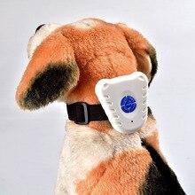 New Amazon pet intelligent electronic ultrasonic barking device, dog collar, collar