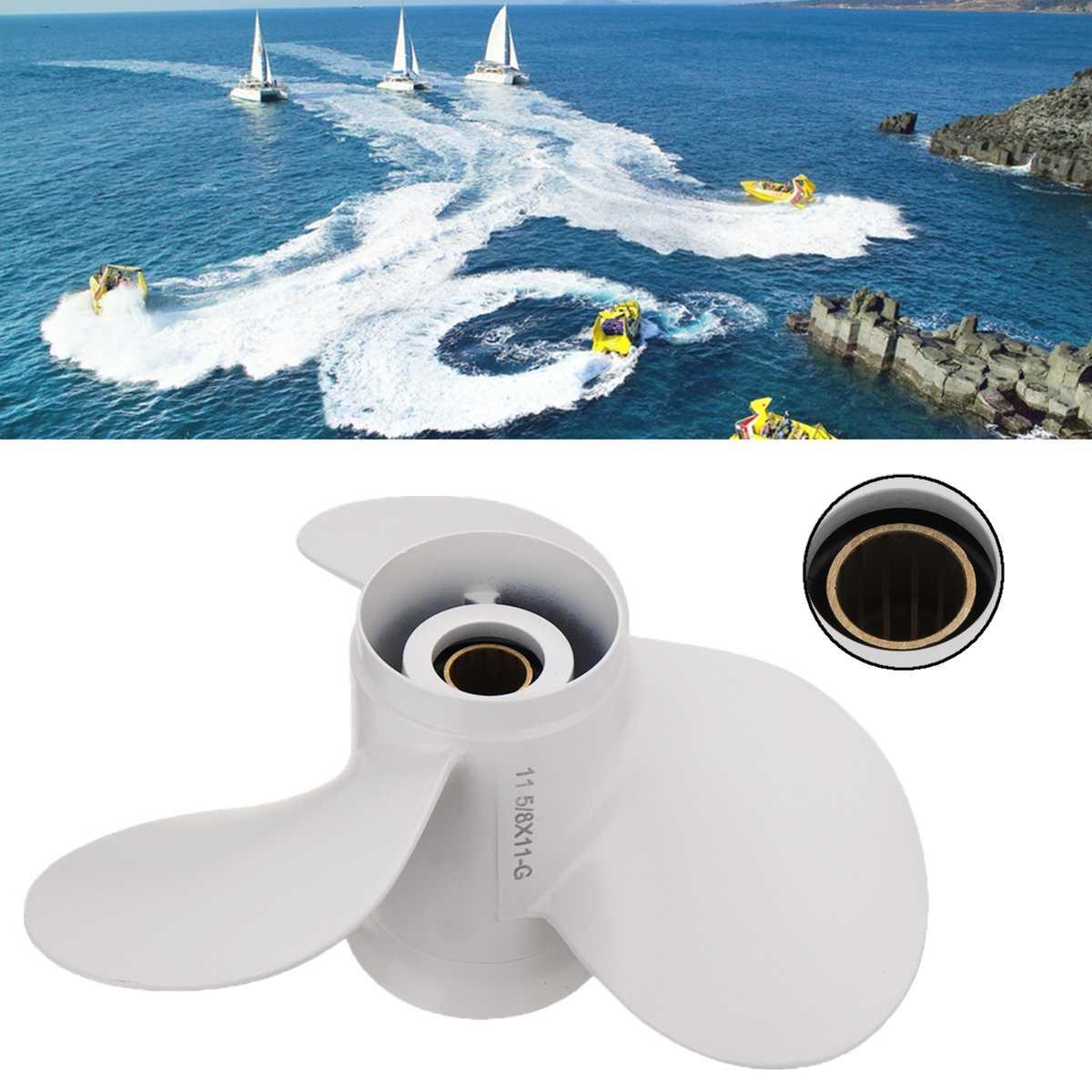 69W 45947 00 EL 663 45947 02 EL 11 5 8 x 11 Boat Outboard Propeller