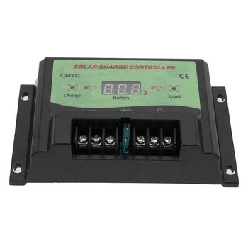CMYD Series Universal 24V 12V 20A Auto Solar Panel Battery Charge Controller LCD Display Solar Collector Regulator