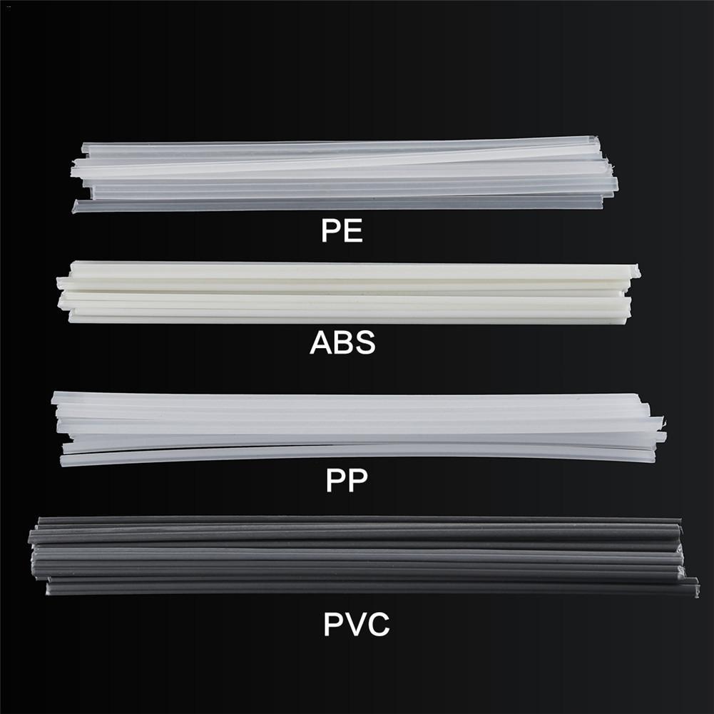50Pcs Plastic Welding Rods Bumper Repair ABS/PP/PVC/PE Welding Sticks Welding Soldering Supplies