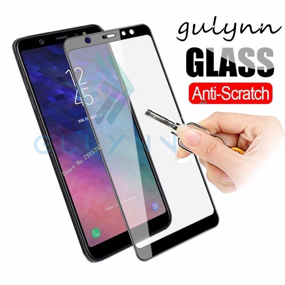 3D Full Cover Tempered Glass For SAMSUNG Galaxy A8 6 J4 J6 Plus M10 Safety Screen Protector For Samsung J7 Duo Max J3 2018 GlaS