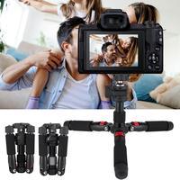 K521 Mini Tripod Portable Desktop Extendable 360 degree Tripod for DSLR Mirrorless Camera for panorama shooting