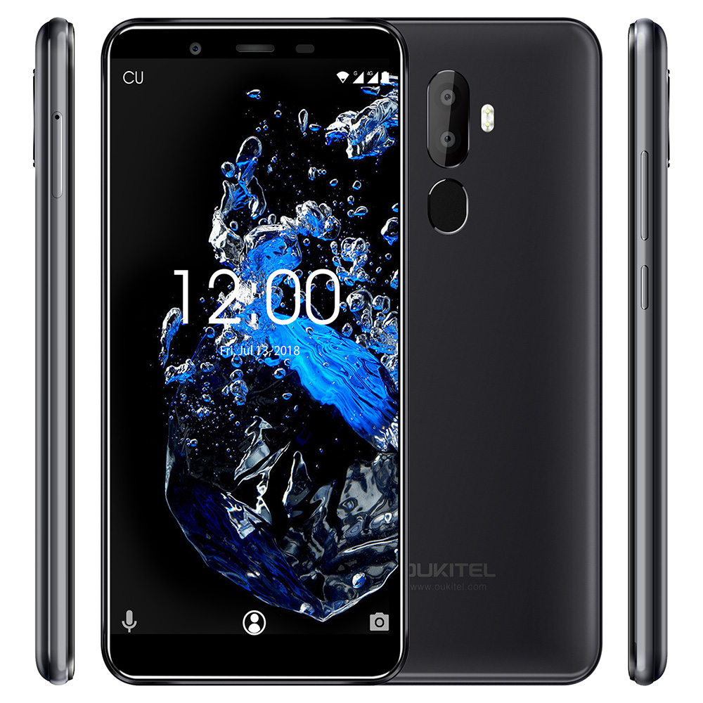 New OUKITEL U25 Pro 4G Smartphone 5.5'' Android 8.1 MTK6750T Octa Core 1.5GHz 4GB RAM 64GB ROM 13.0MP 3200mAh Mobile Cellphones