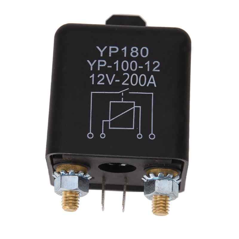 24V/12V 200A/100A Continuous Type Automoti Switch Car Continuous Type Automotive Relay Car Truck Motor Automotive Relay