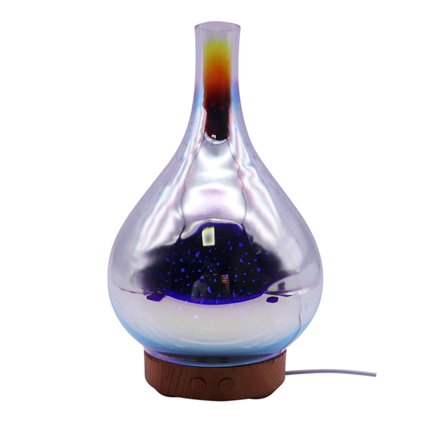 NEW-100ml Glass Aromatherapy Humidifier Essential Oil Diffuser Ultrasonic Humidifier 3d Aromatic Night Light Aroma Essential ONEW-100ml Glass Aromatherapy Humidifier Essential Oil Diffuser Ultrasonic Humidifier 3d Aromatic Night Light Aroma Essential O