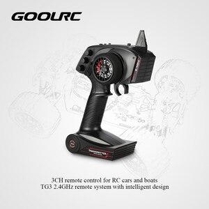 Image 2 - Оригинальный цифровой радиопередатчик GoolRC TG3, 2,4 ГГц, 3 канала, дистанционное управление с приемником для радиоуправляемой машины, лодки