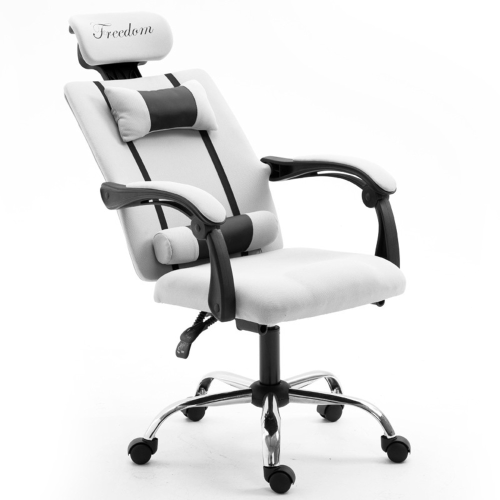 Leisure Time To In An Office Computer Household Modern Concise Cloth Study Fold Dawdler Student Do Work Gaming Chair