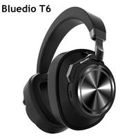 Bluedio T6 Bluetooth Headset Sports Wireless Subwoofer Active Noise Reduction Headphones With Microphone Stereo Music Headsets